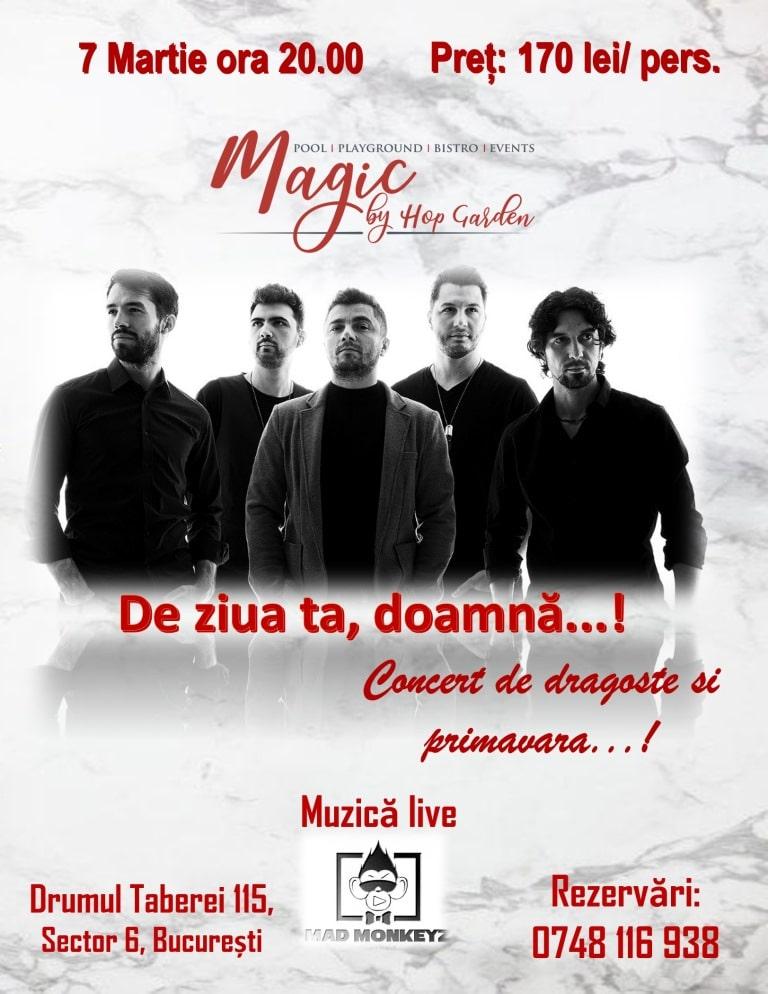Afis 7 Martie - Concert Magic Garden jpg