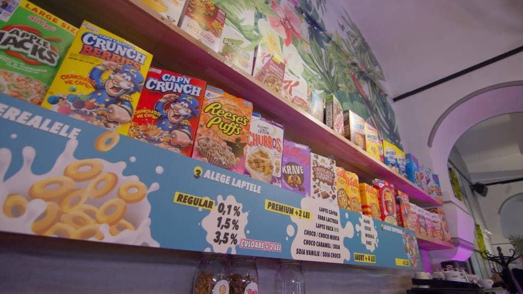 Cereal Crunch locatie Hristo Botev