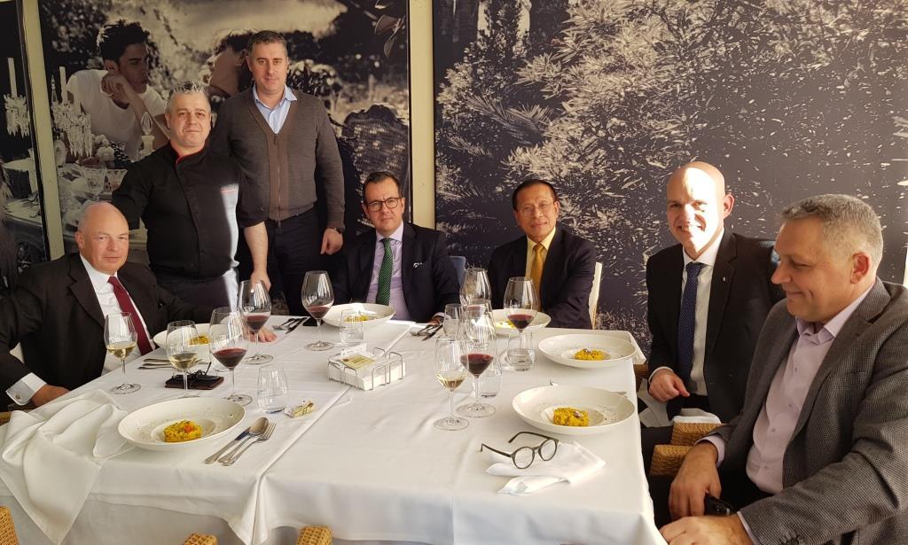 Cina memorabila la Isoletta in Parcul Herastrau