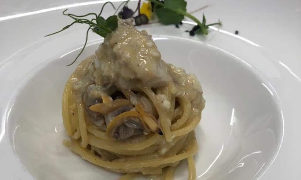 Spaghete cu Spigola & vongole