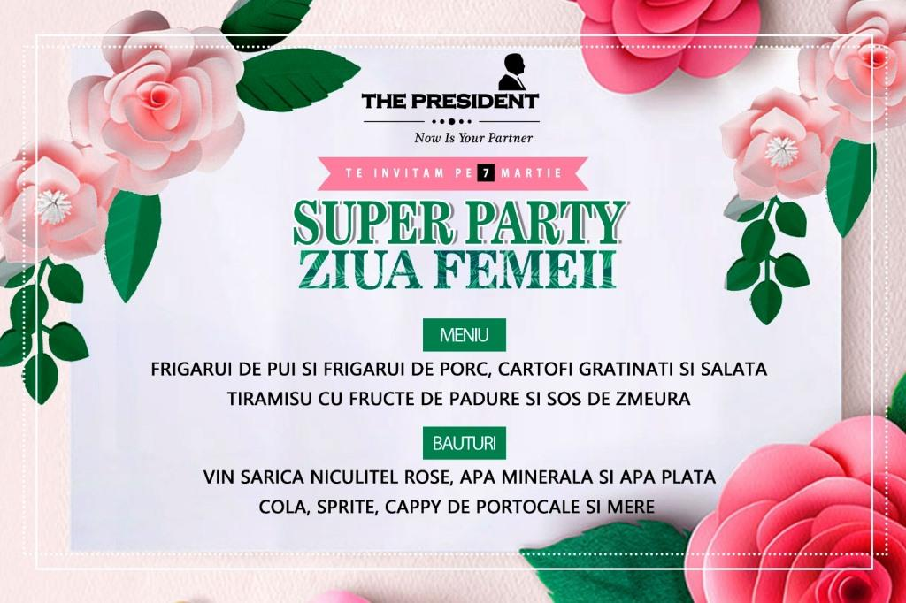 Super Party la The President