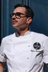 Chef Bogdan Alexandrescu - hotographer Georgiana Mihai