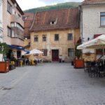 Brasov, Piata George Enescu in orasul vechi